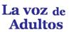 Logo de La Voz de Adultos